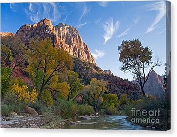 Bridge Mountain Canvas Print