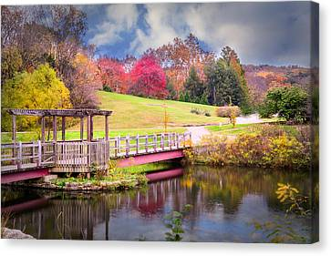 Bridge Of Dreams Canvas Print by Mary Timman