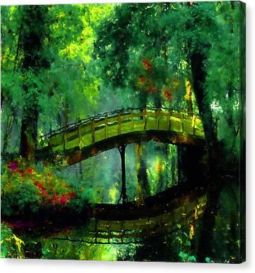 Bridge Of Dreams Canvas Print by Georgiana Romanovna