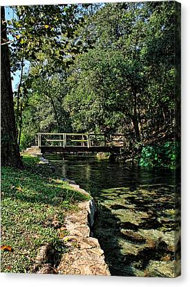Bridge Of Serenity Canvas Print