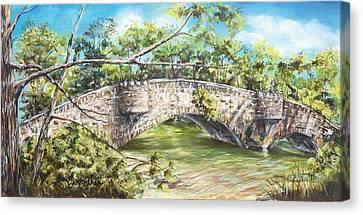 Bridge Of Sighs Canvas Print by Debbie Bathen