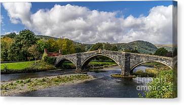 Bridge Of Swearing Canvas Print by Adrian Evans