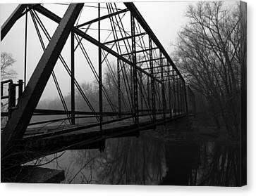Bridge Canvas Print by Off The Beaten Path Photography - Andrew Alexander