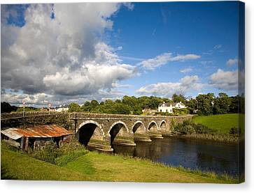 Bridge Over The River Ilen Canvas Print by Panoramic Images