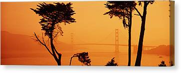 Bridge Over Water, Golden Gate Bridge Canvas Print
