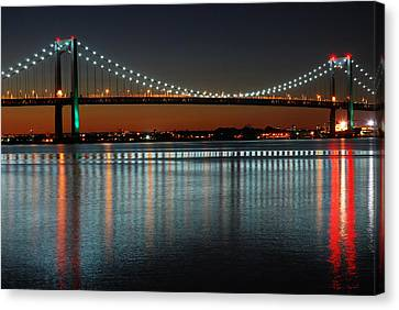Suspended Reflections Canvas Print by James Kirkikis