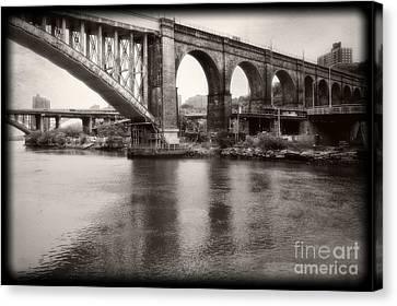 Bridge Reflections Canvas Print
