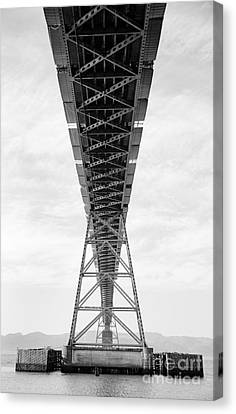 Bridge Span Canvas Print by Charmian Vistaunet