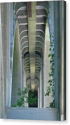 Canvas Print featuring the photograph Bridge Spine by Bruce Carpenter