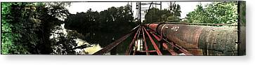 Bridge To La La Land Canvas Print by Erica Springer