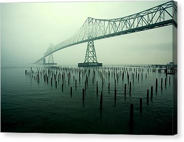 Bridge To Nowhere Canvas Print by Todd Klassy
