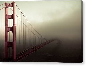Bridge To The Unknown Canvas Print by Jeffrey Yeung