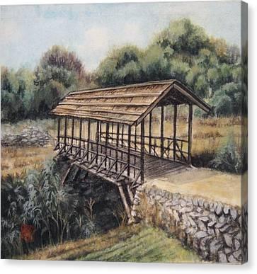 Bridge Canvas Print by Tomoko Koyama