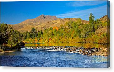 Bridge View Canvas Print by Robert Bales