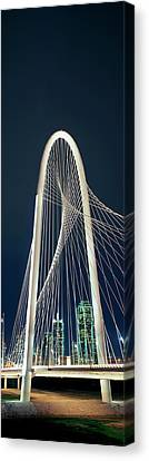 Bridge With Skyscrapers Canvas Print by Panoramic Images