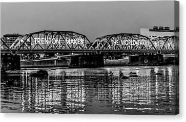 Bridges Over Forever Canvas Print by Louis Dallara