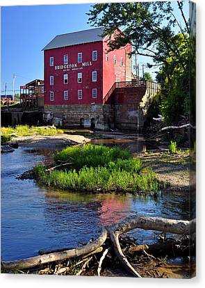 Bridgeton Mill 2 Canvas Print by Marty Koch