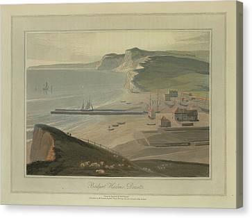 Bridport Harbour Canvas Print