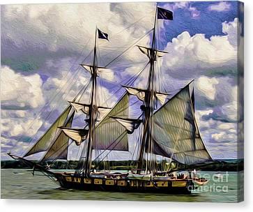 Brig Niagara IIi Canvas Print