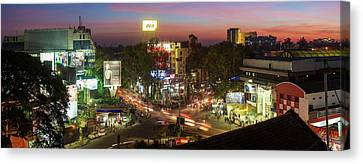 Long Street Canvas Print - Brigade Road And Main Shopping Area by Panoramic Images