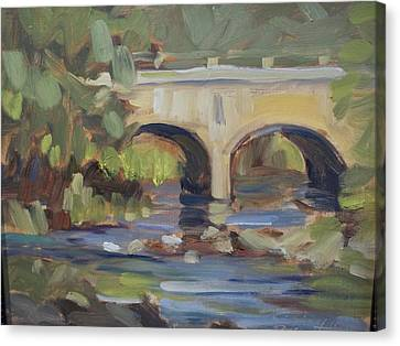 Brigde To Nowhere Canvas Print by Robert Martin