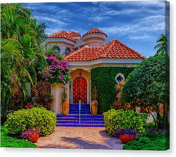 Bright And Beautiful - Florida Canvas Print by Frank J Benz