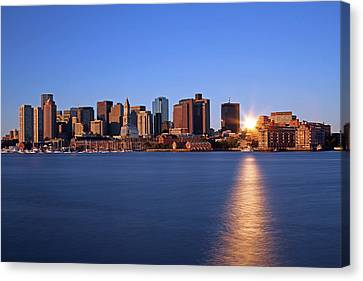 Bright And Sunny Boston Canvas Print