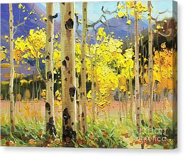 Bright Autumn  Canvas Print by Gary Kim