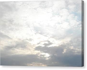 Bright Clouds Canvas Print