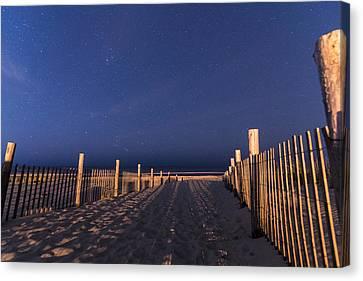 Bright Dunes Canvas Print
