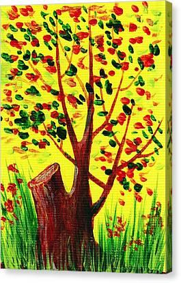Present Canvas Print - Bright Fall by Anastasiya Malakhova