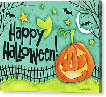 Bright Halloween I Canvas Print by Anne Tavoletti