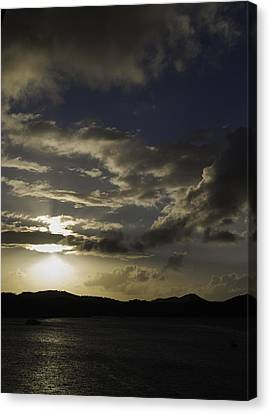 Bright Horizon Canvas Print by Judy Hall-Folde