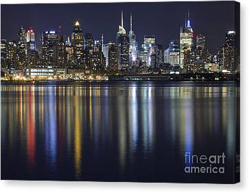 Bright Lights Big City Canvas Print by Marco Crupi