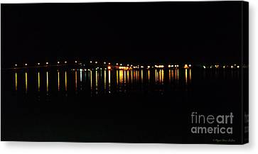Canvas Print featuring the photograph Bright Lights by Megan Dirsa-DuBois