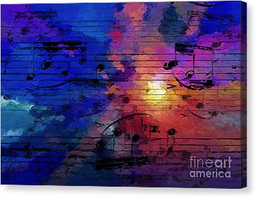 Canvas Print featuring the digital art Bright Spot by Lon Chaffin