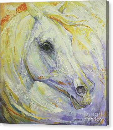Bright Spring Canvas Print by Silvana Gabudean Dobre