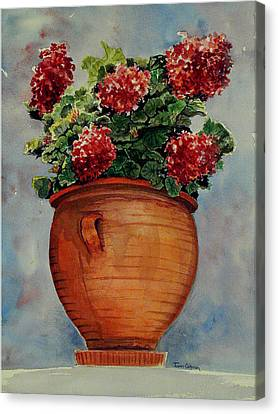 Brightening The Day Canvas Print by Terri  Meyer