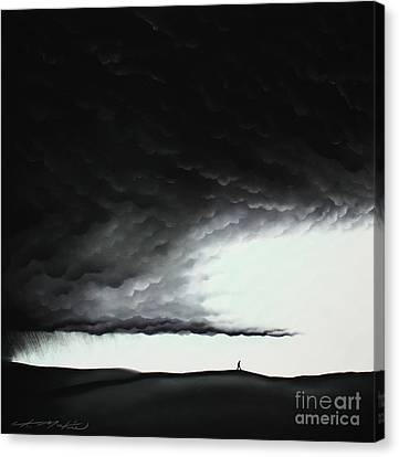 Brighter Days Ahead Canvas Print by Chris Mackie