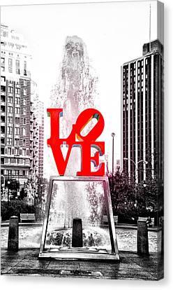 Brightest Love Canvas Print by Bill Cannon