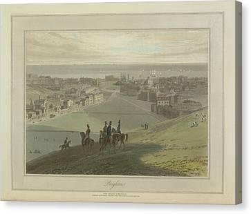 Brighton Canvas Print by British Library