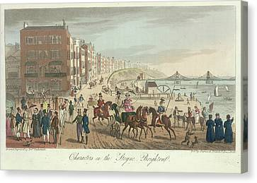 Brighton Seafront Canvas Print by British Library