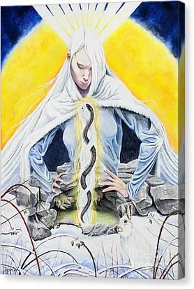 Brigid Canvas Print by Antony Galbraith