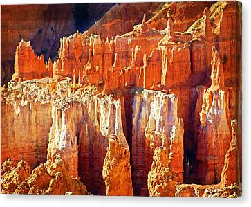 Canvas Print featuring the photograph Brilliant Bryce by Marty Koch