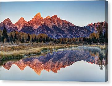 Brilliant Cathedral Canvas Print by Mark Kiver