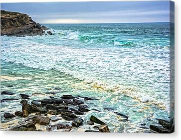 Brilliant Seascape In Portugal Canvas Print