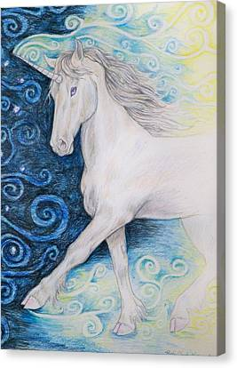 Bringer Of The Dawn Canvas Print by Beth Clark-McDonal