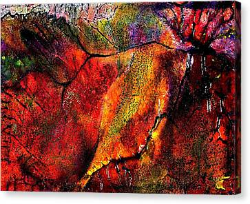 Climbing Canvas Print - Brink by Wendy Butler