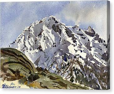 Bristenstock Mtn Canvas Print