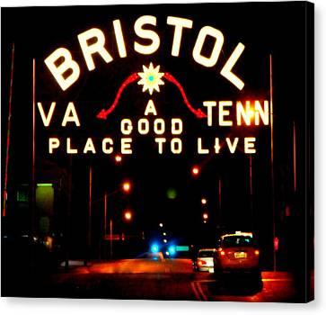 Bristol Canvas Print by Karen Wiles